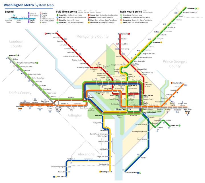 How to Ride the Washington D.C. Metro forecast