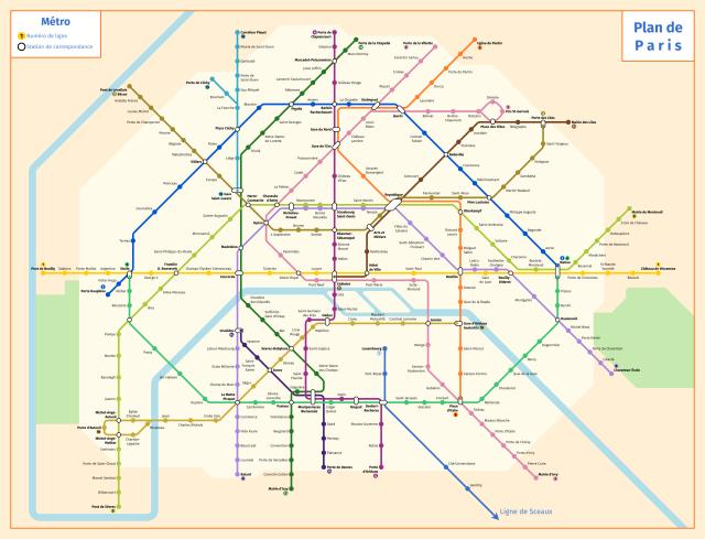 paris metro 1956