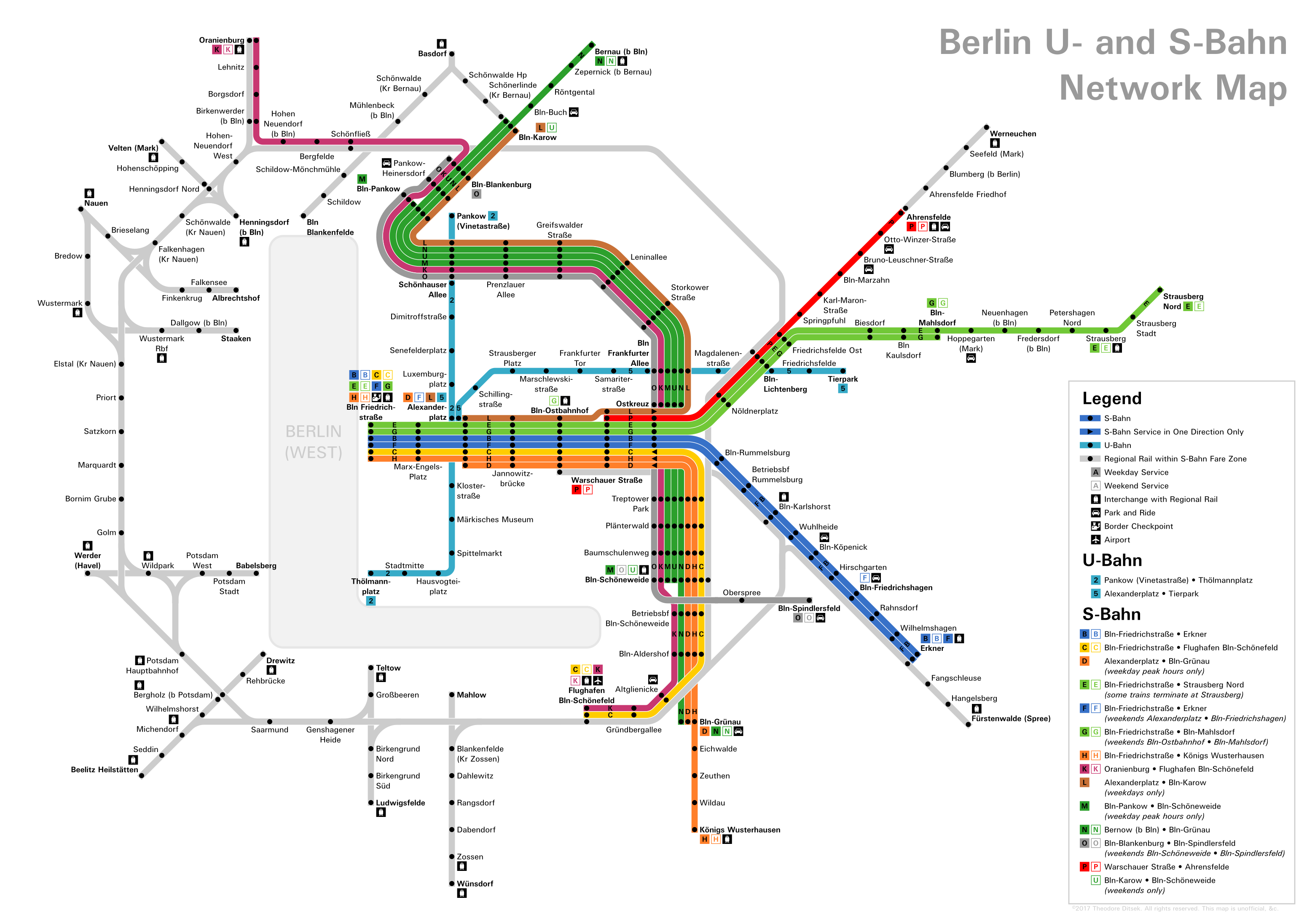 Theodore Ditsek It Sounded So Much Better In My Head Page - Berlin us bahn map