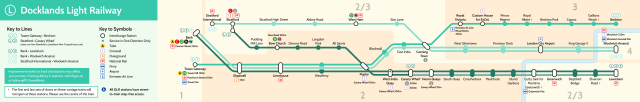 dlr strip map with official colors