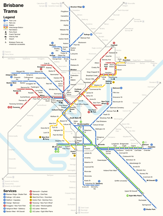 brisbane stadtbahn