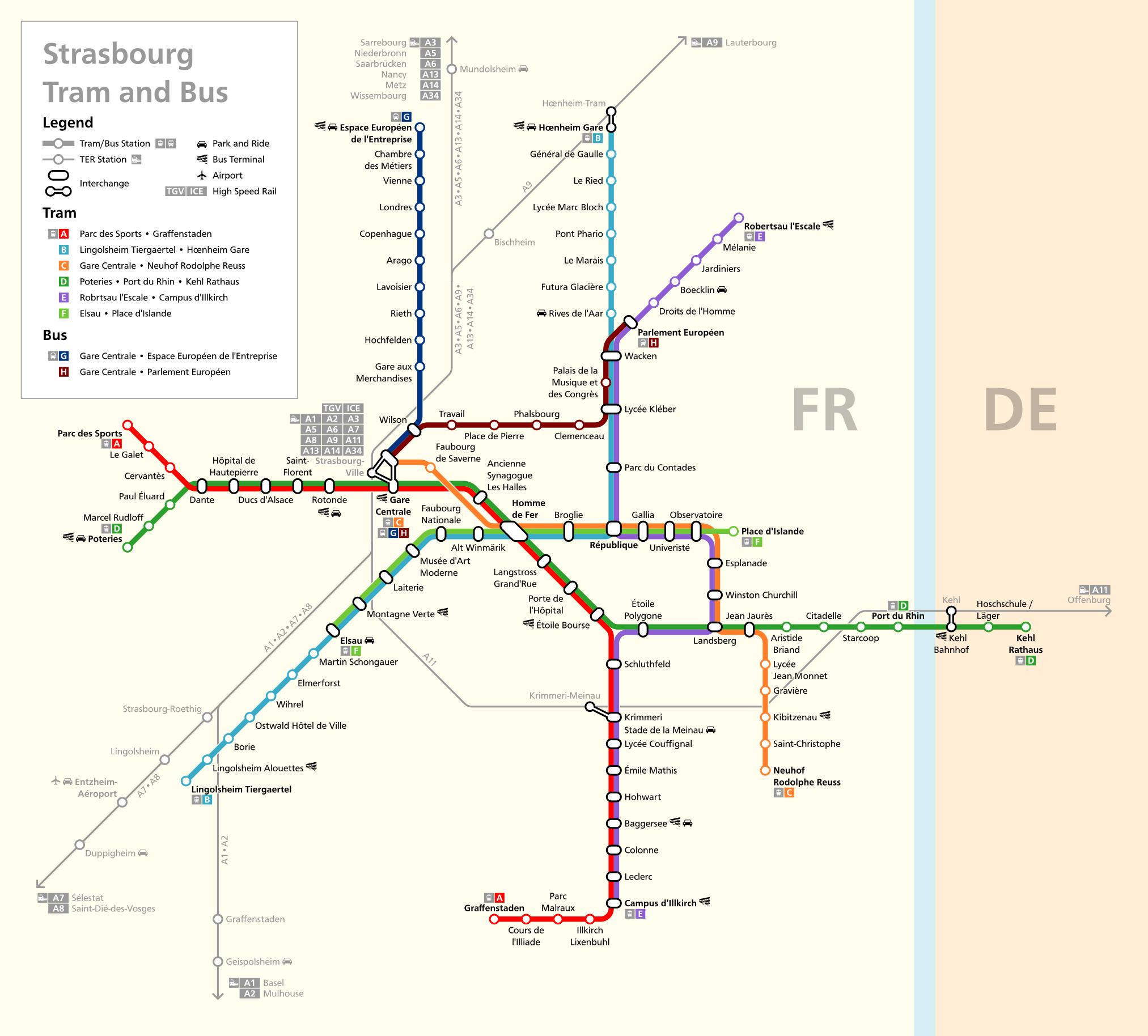 strasbourg tram